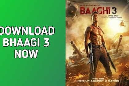 Baaghi 3 Full Movie Download HD link Leaked online