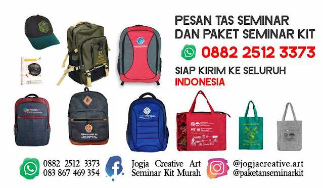 Konveksi Tas Seminar Kit Bali, WA. 0882 2512 3373