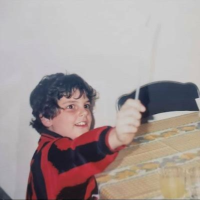 Carlo Acuti de niño
