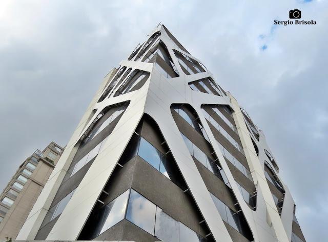 Vista da parte superior do Edifício 411 - Paraíso - São Paulo
