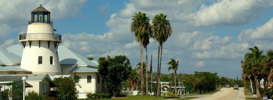 Saliendo de Everglades City por la CR 29