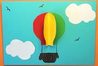 DIY Luftballon kort