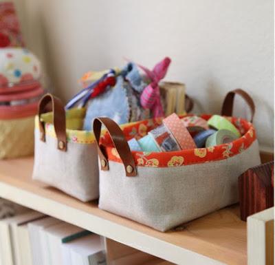 baskets from Minki Kim