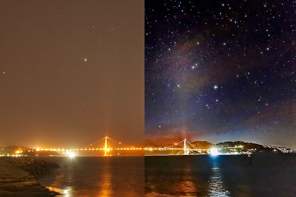 Astrophotography Blog Removing Light Pollution