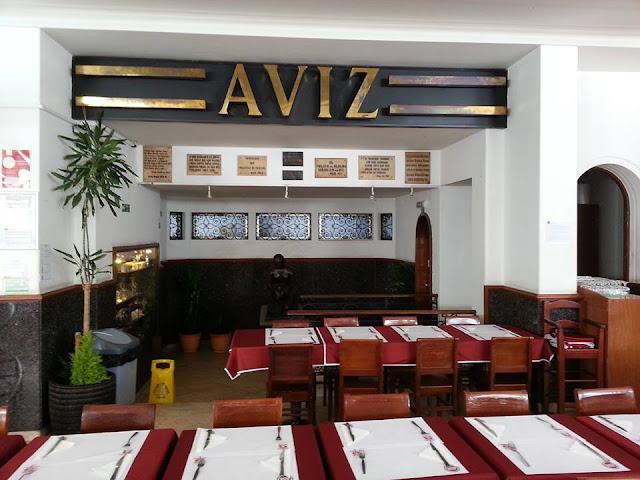 Restaurante Aviz no Porto
