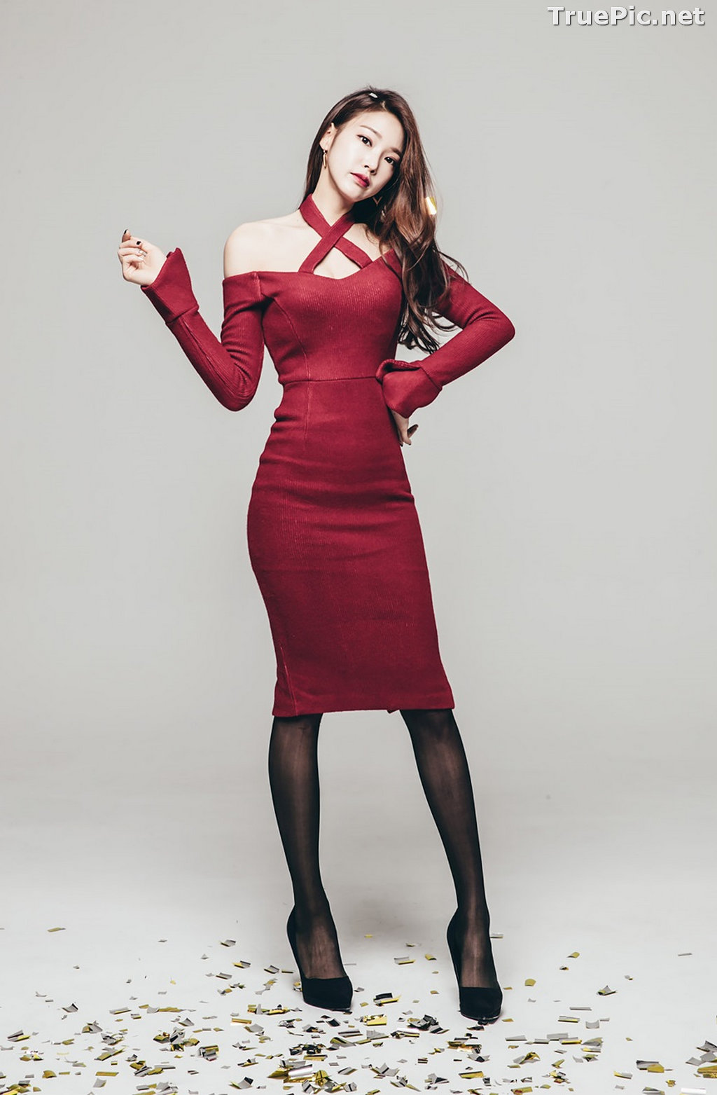 Image Korean Beautiful Model – Park Jung Yoon – Fashion Photography #11 - TruePic.net - Picture-27