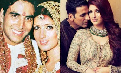 A photo in Their Marriage | Akshay, and Twinkle