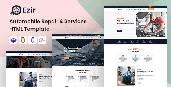 Best Auto Repair Services HTML Template