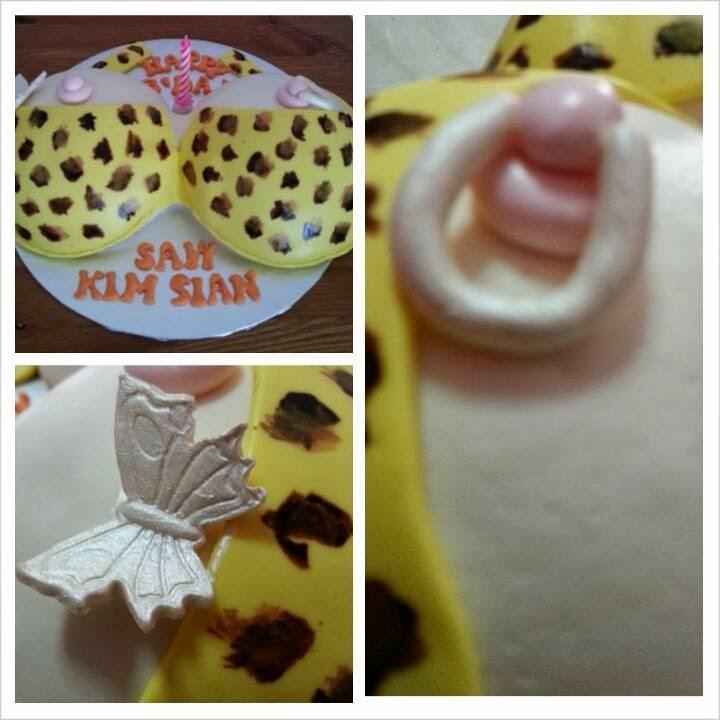 Eunice Home Bake Klang Naughty Boob Cake