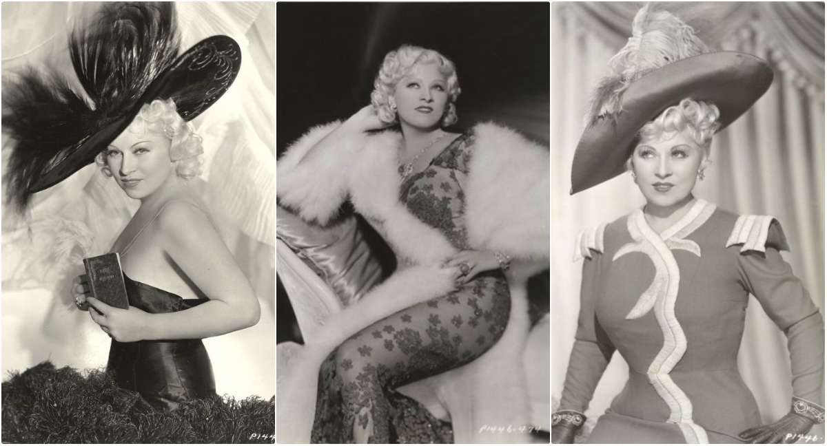 The Original Hollywood Sex Symbol: 45 Glamorous Photos of Mae West in the 1930s