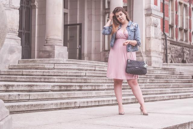 Sukienka i kurtka jensowa jak nosic?