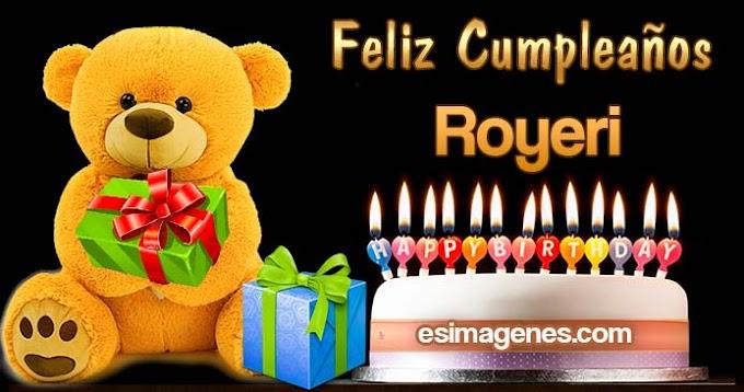 Feliz Cumpleaños Royeri