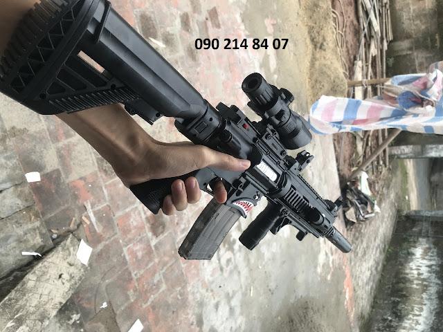 Súng đạn thạch đạn hạt nở bắn liên thanh_2