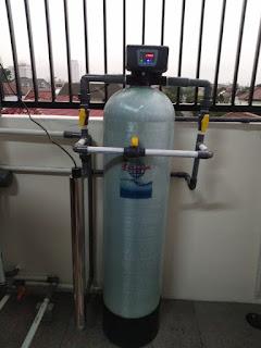 filter air sumur dengan sistem otomatis backwash dan ultra violet untuk menghasilkan air yang bersih dan sehat