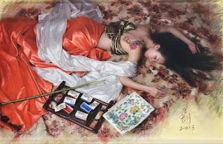 pintores-chinos- mujeres-chinas-contemporaneos-hiperrealismo