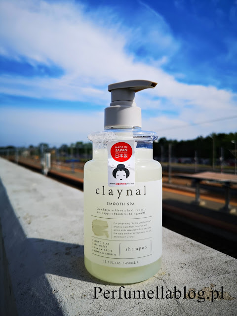 claynal smooth spa szampon