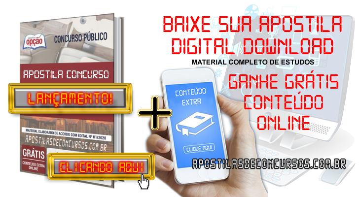 Apostila Concurso Prefeitura de Guarapari ES 2020 PDF Edital Online Inscrições