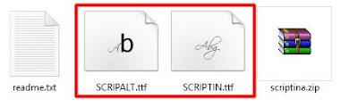 Cara Mudah Install Font