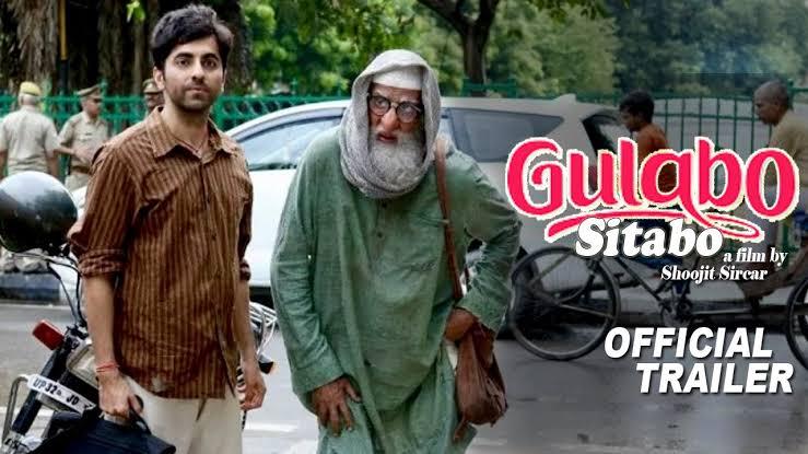 Gulabo sitabo trailor review