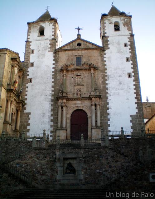 Iglesia de San Francisco Javie en Cáceres