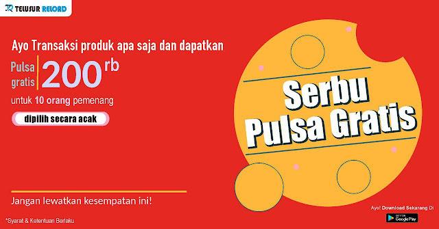 Promo Pulsa & Pulsa Gratis Spesial Hari Kartini 2019