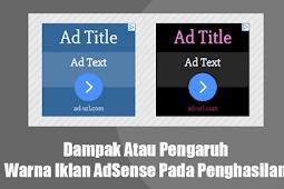 Beberapa Faktor Yang Mempengaruhi RKT (Rasio Klik-Tayang) Google AdSense