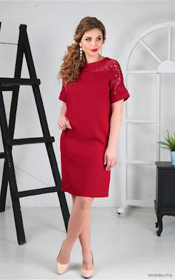 Vestidos de Fiesta Cortos Rojos