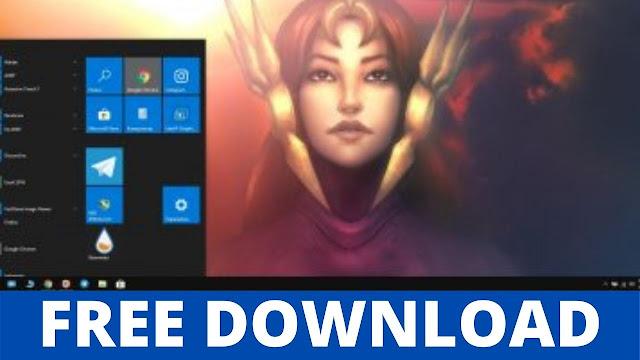 Leona (LoL) Game Windows Theme Free Download 2021