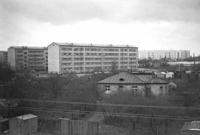 """1976 год. Пурвциемс. """"Еще нет девятиэтажек на Стайцелес, многоэтажек у """"Минска"""", кольца 6-го троллейбуса"""""""