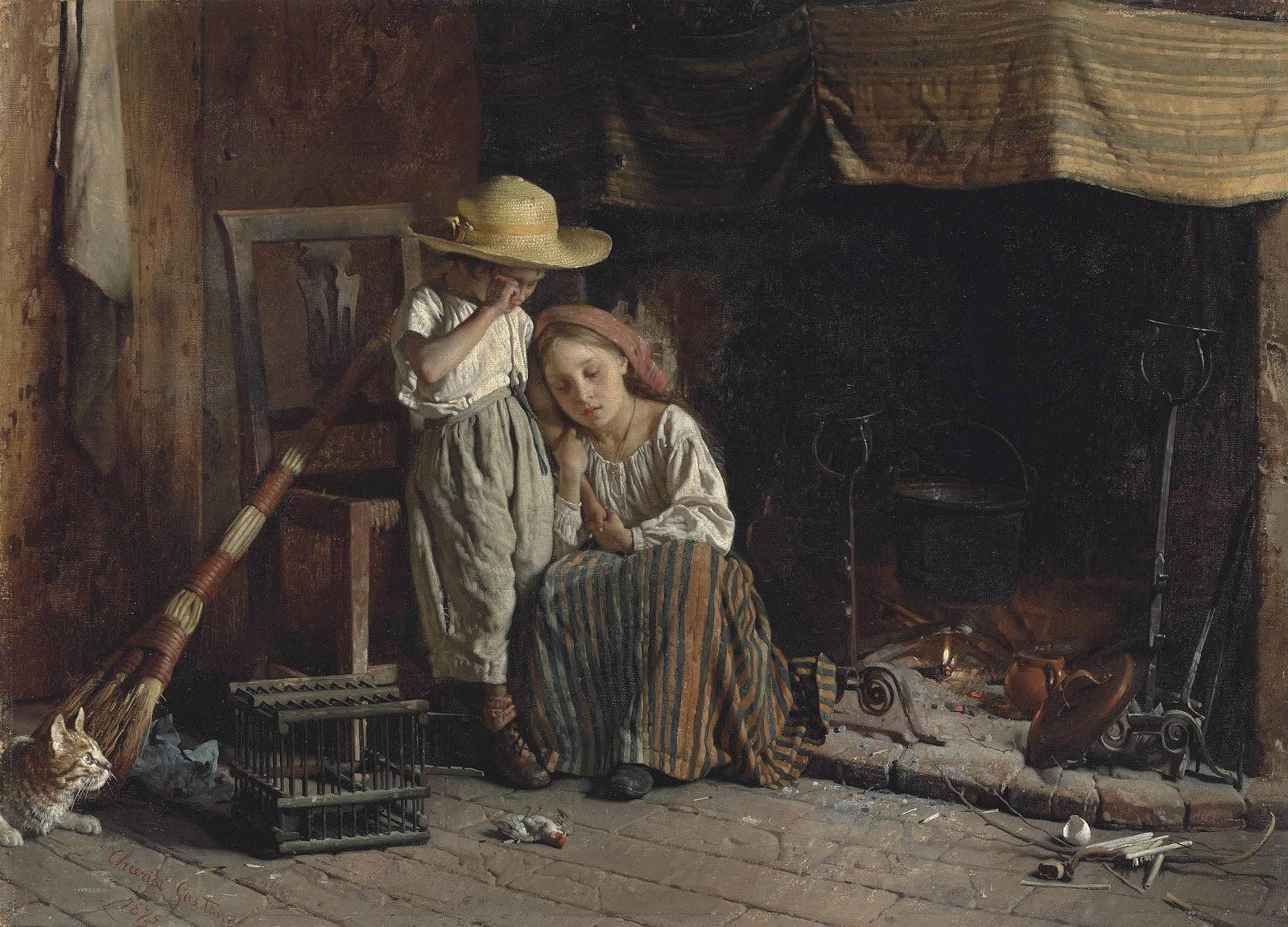 Tristezas Infantis - Gaetano Chierici