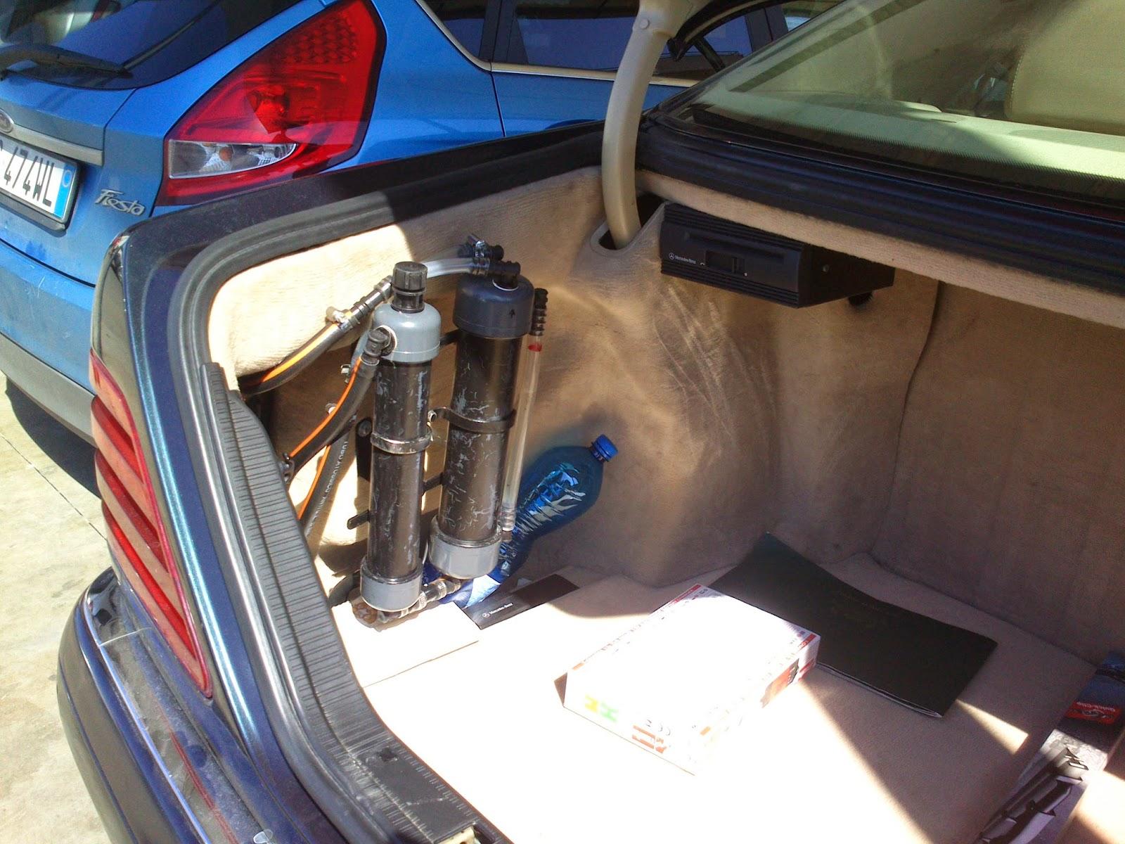 Ginosa news ginosanews kit ad idrogeno per auto ma for Costo per aggiungere 2 box auto
