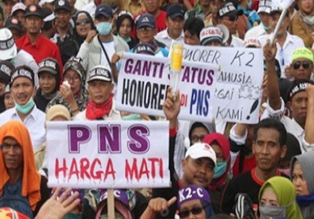 Komisi II Dukung Perjuangan Honorer K-2 Jadi CPNS
