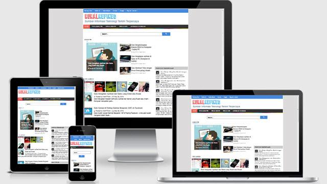 Serayu Evo Responsive Blogger Template
