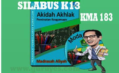 Download Silabus Akidah MA Kelas 10 11 12 K13