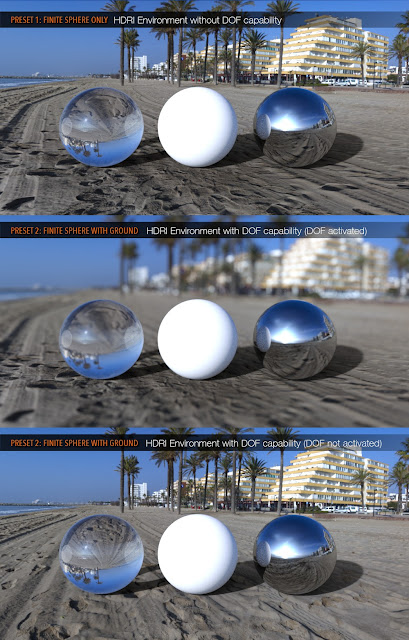 UltraHD IRAY HDRI With DOF - Sunny Beaches Pack 2