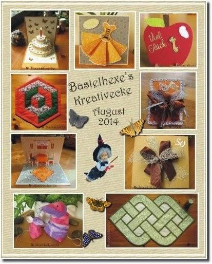 Bastelhexe\'s Kreativecke: August 2014