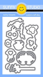 Sunny Studio Stamps: Love Monkey Coordinating Metal Cutting Dies