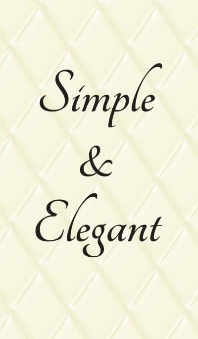 Elegance เรียบง่าย: สีดำและสีขาว