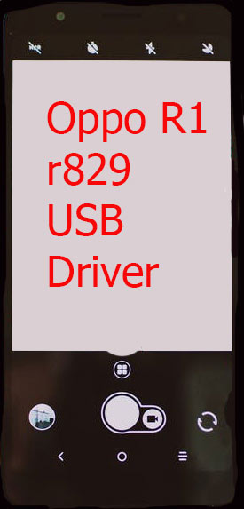 Oppo R1 r829 USB Driver Download