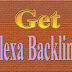 How To Get Free Do Follow Backlink From Alexa - Get Free Backlink