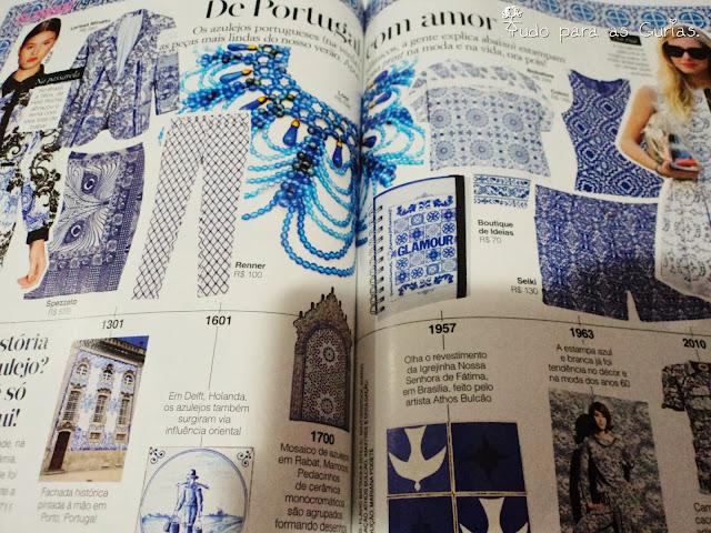 Revista Glamour de Setembro 2013.