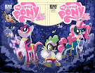 My Little Pony Friendship is Magic #3 Comic Cover Double Variant