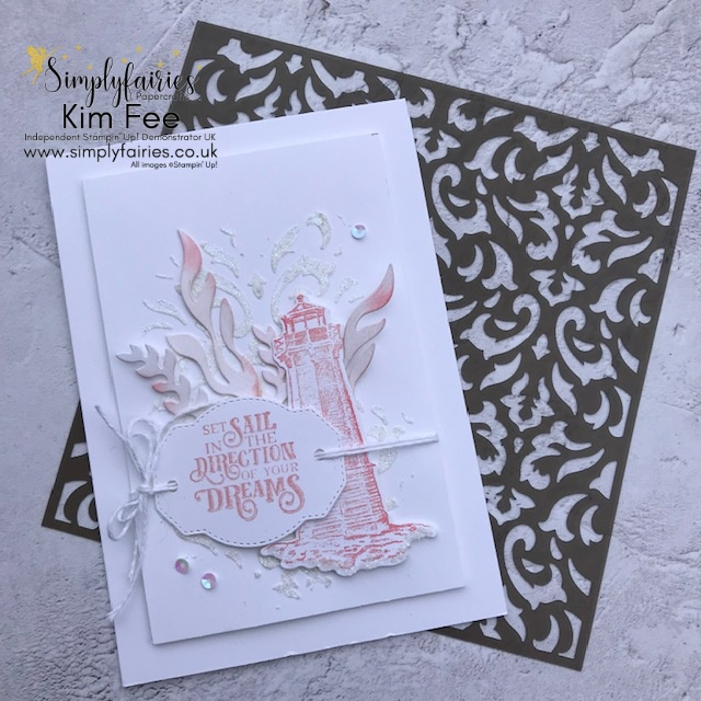 Delicious Pink Sailing Home,   Stampin Up!