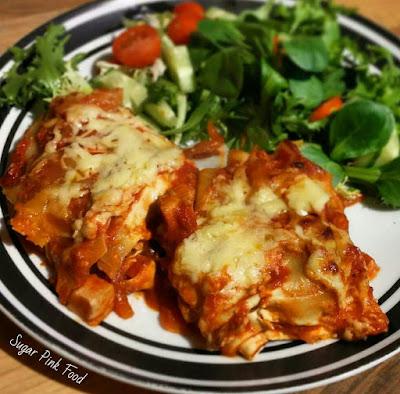 Slimming World Friendly Recipe-  Mexican Enchilada Lasagne