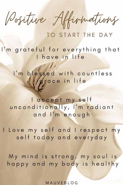 positive affirmations to start the day