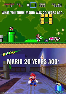 Mario 20 Years Ago