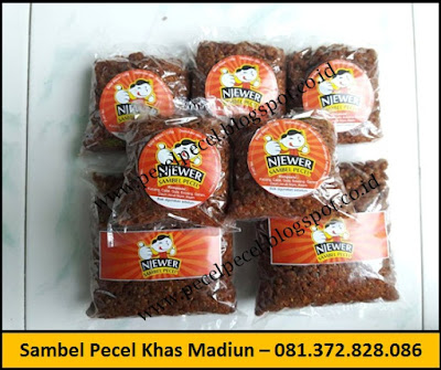 Pabrik Sambel Pecel Khas Madiun – 081.372.828.086
