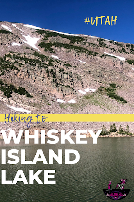 Hiking to Whiskey Island Lake, Uintas