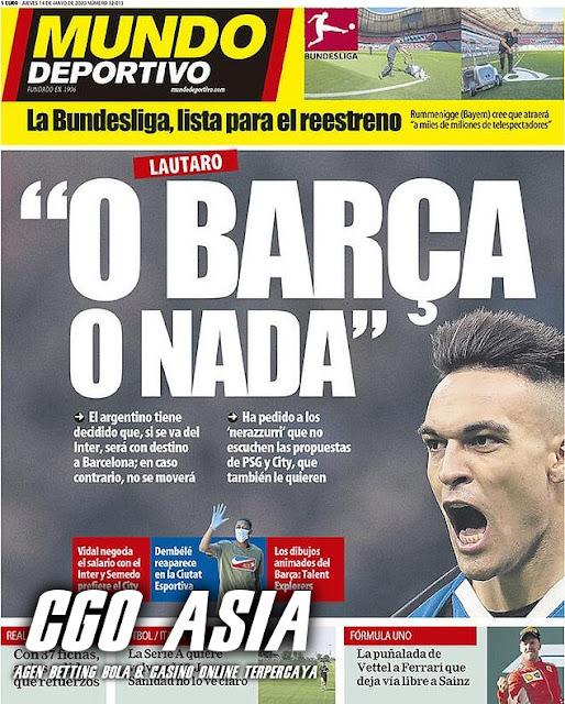 Pilihan hanya ke Barcelona , bukan yang lain : Lautaro Martinez - Rumahsport.com