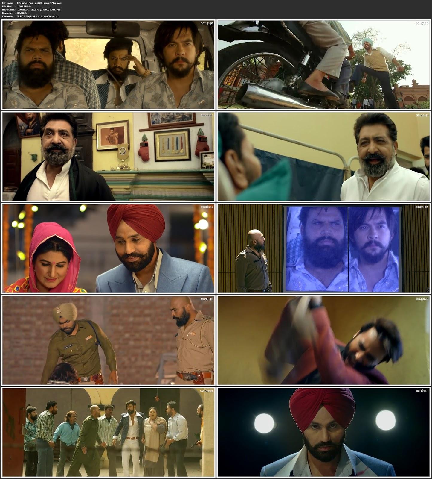 Punjab Singh 2018 Punjabi Movie 480p HDRip 400Mb Download